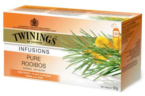 Twinings Kräutertee Pure Rooibos 25 Teebeutel