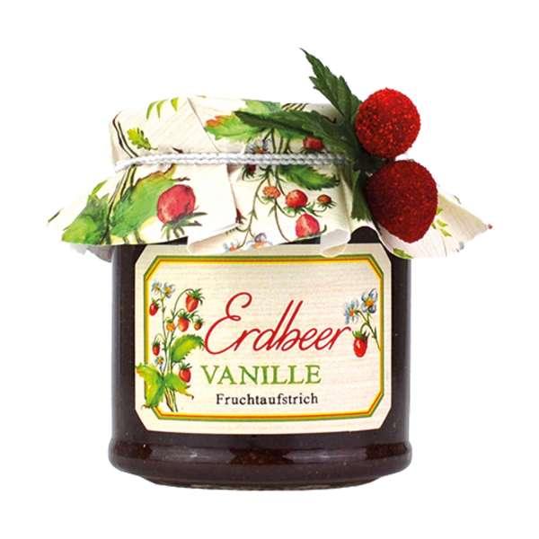 Erdbeer-Vanille Fruchtaufstrich von Collier 250g