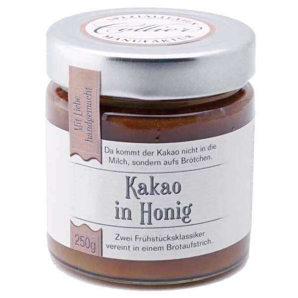 Kakao in Honig Brotaufstrich von Collier 250g