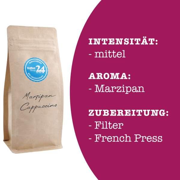 Marzipan-Cappuccino Kaffee