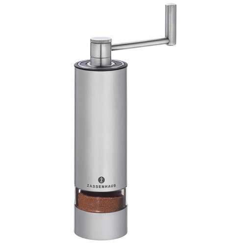Zassenhaus Espressomühle Edelstahl Panama