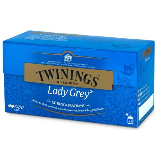 Twinings Lady Grey Tee 25 Teebeutel