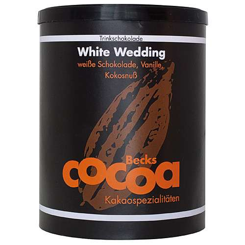 Becks Cocoa Trinkschokolade White Wedding Dose 250 g
