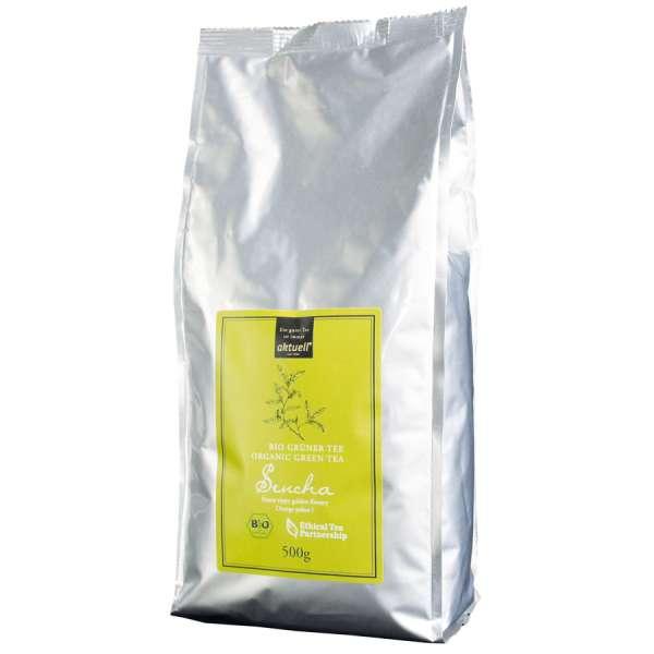 aktuell Bio Sencha Grüner Tee 500 g