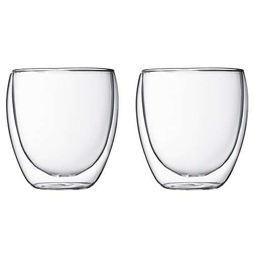 Bodum PAVINA Glas 2 Stück doppelwandig 0,25 L