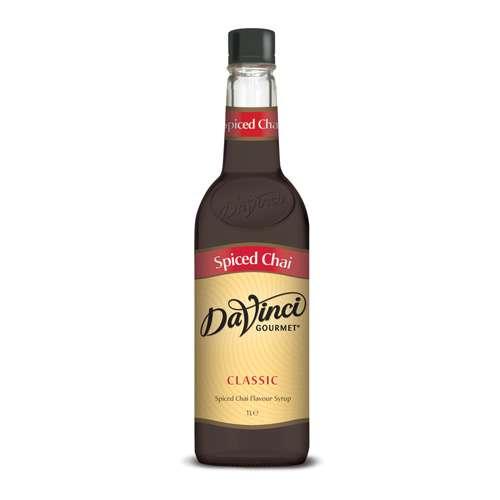 Da Vinci Gourmet Sirup Spiced Chai PET 1 L
