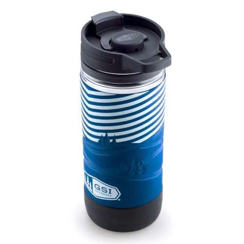 GSI Outdoors Commuter JavaPress Kaffeebereiter blau