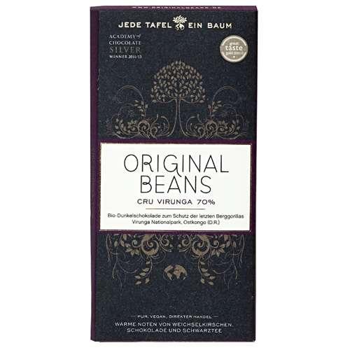 Original Beans Bio Schokolade Cru Virunga 70% 70 g