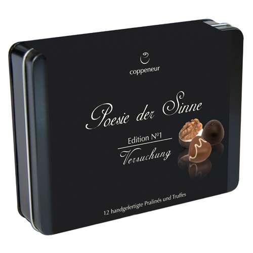Coppeneur Pralinen Geschenkbox Edition No1 Poesie der Sinne 142 g