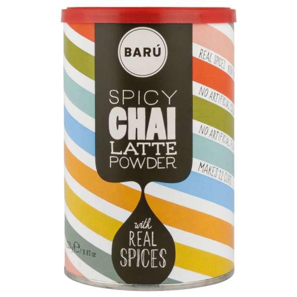 BARU Chai Spicy Latte Pulver 250 g