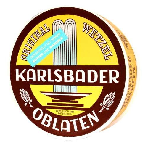 Wetzel Karlsbader Oblaten Runddose 250 g