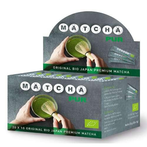 Shamila Original Bio Japan Premium Matcha Pur Sticks 20 g
