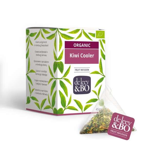 de Leev & Bo Bio Früchtetee Kiwi Cooler Premium Teebeutel 15 x 2,5g
