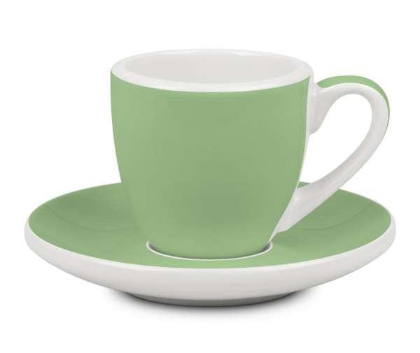 Könitz Espressotasse & Untertasse grün 50 ml