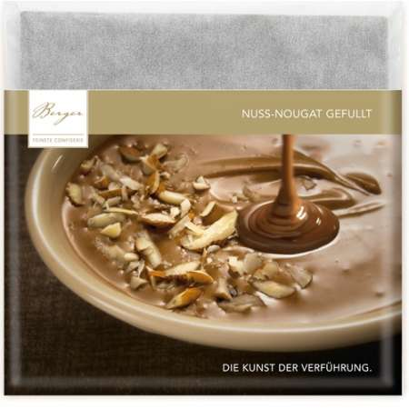 Berger Schokolade Nuss-Nougat gefüllt 100 g