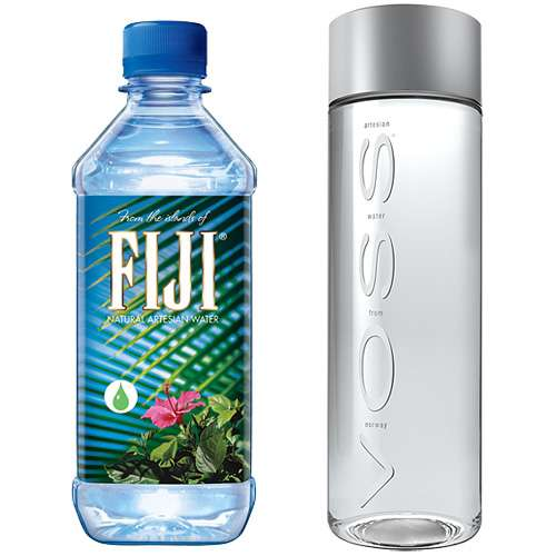 Voss & Fiji Mineralwasser 2er Probierset