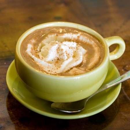 Spanisch Karamel Kaffee