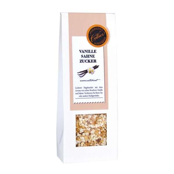 Vanille - Sahne Hagelzucker aromatisiert von Collier 200g